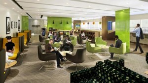 Artists rendering of new ESCAPE lounge MSP Minneapolis Airport (1)