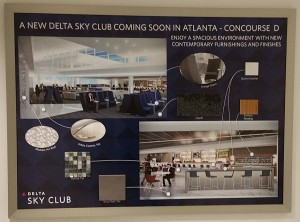 Delta Sky Club near D27 Atlanta ATL airport review Renes Points blog (3)