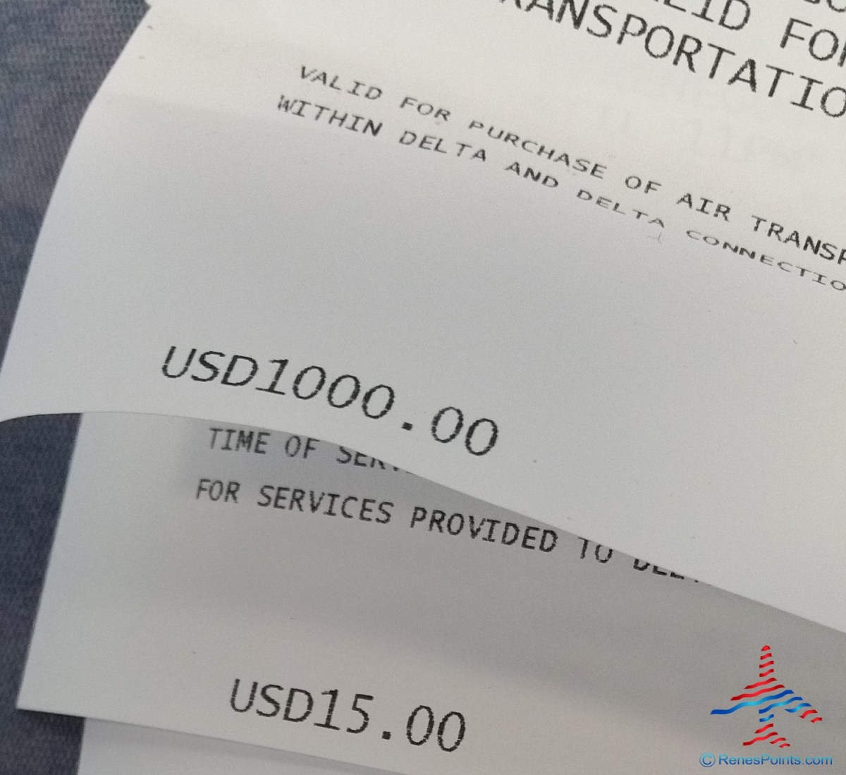 current 1k max for delta bump vouchers but rules change all the time renespoints blog