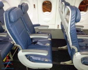 delta exit row seat - watch out for little extra space delta 737-900er jet