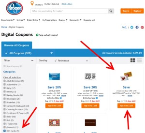 digital coupones kroger