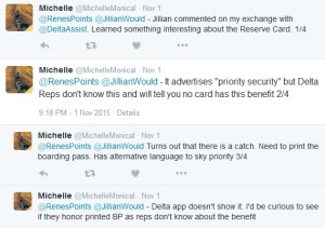 tweets about reserve card priority security