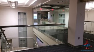 entrance to the MSP Escape lounge Renes Points blog review