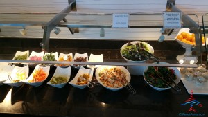 new food choices at DFW AMEX Centurion Lounge Renes Points blog (4)