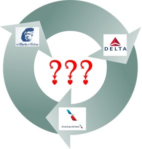 round from delta to aa to as