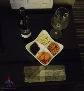 wine and snack diamond option grand hyatt dfw renes points blog review