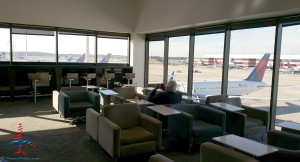 Delta Sky Club Atlanta ATL A concourse near A17 Review by Renés Points (9)