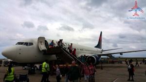 arrive Barbados BGI airport renes points blog