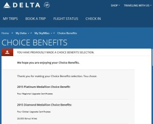 choice benefits from delta