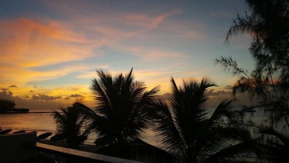 sunset barbados