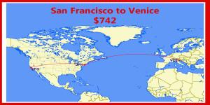 SFO-VCE 742 RouteMap