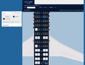 seat map crj200 delta atl to sbn