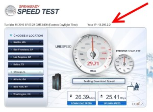 wifi speed crown plaza with no VPN running