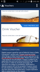 you must PRINT your Digital Delta HOOU coupons before flight renespoints blog