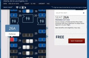 exit row will be just fine