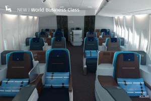 new full flat klm business class seat bookable with delta global upgrade code share