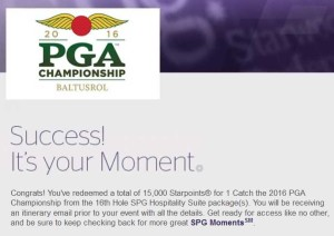 pga event spg points