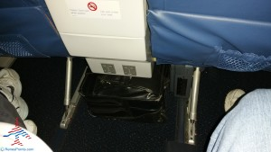 power in front of you 1st class Delta A320(ow) RenesPoints blog