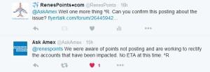 slow amex points posting