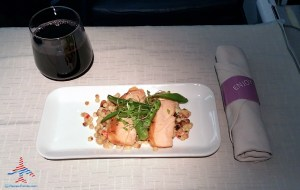 Delta 777 jfk to nrt renespoints blog review 1st course