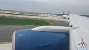 Delta 777 jfk to nrt renespoints blog review 8 takeoff