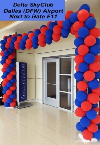 Delta DFW SkyClub E11 Entrance (1)
