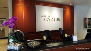 Delta DFW SkyClub E11 Front Desk