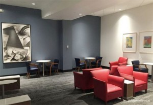 Delta DFW SkyClub E11 Seating 01
