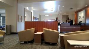 Delta DFW SkyClub E11 Seating (9)