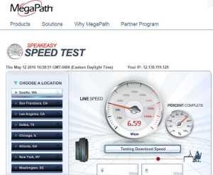 Delta Gogo satilite wifi speed while over the usa renespoints blog