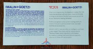 Delta Tumi Delta One Amenity Kit Review Black and Gray RenesPoints blog (13)
