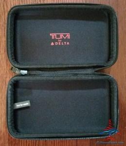 Delta Tumi Delta One Amenity Kit Review Black and Gray RenesPoints blog (20)