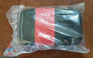Delta Tumi Delta One Amenity Kit Review Black and Gray RenesPoints blog (3)