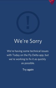 error fly delta app renespoints blog