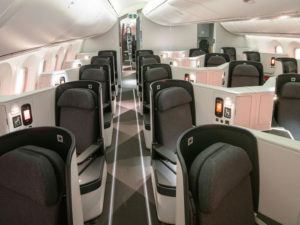 Avianca Airlines Business Class