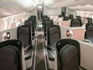 Avianca Airlines Business Class