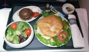 AeroMexico Skyteam 737-800 business class seat review and dinner RenesPoints travel blog (10)