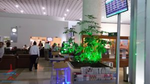 AeroMexico Skyteam Lounge MEX Mexico City Airport RenesPoints Blog Review (5)