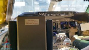 Delta Air Line 747 Delta One business class seat flight review NRT Japan to DTW Detroit RenesPoints blog (11)