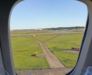 Delta Air Line 747 Delta One business class seat flight review NRT Japan to DTW Detroit RenesPoints blog (12)