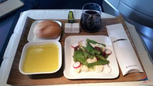Delta Air Line 747 Delta One business class seat flight review NRT Japan to DTW Detroit RenesPoints blog (23)