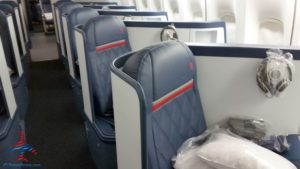 Delta Air Line 747 Delta One business class seat flight review NRT Japan to DTW Detroit RenesPoints blog (8)