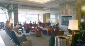 Minneapolis MSP Delta Sky Club C gates RenesPoints Blog Review (6)