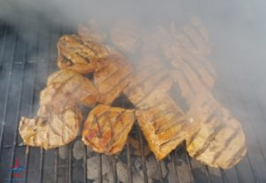 chicken breasts on the grill renespoints blog