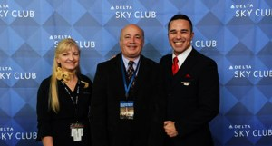 during the Opening of Delta Air Lines Sky Club A in Seattle Washinton, Thursday, October 20, 2016