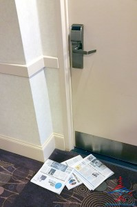 3-days-of-news-papers-at-hotel-room-door-holiday-in-chicago-renespoints-blog