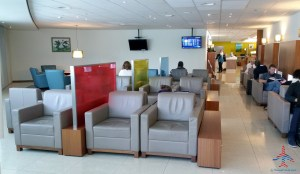 The Priority Pass Executive lounge review at SXM St Maarten RenesPoints Travel blog review (10)