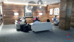 The hidden AMEX Centurion Lounge - The Centurion Lounge is located in Terminal D and is accessible via the elevator located in the Duty Free Shop near gate D6 - RenesPoints blog review (12)