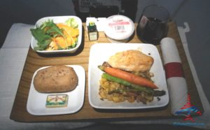 outbound meal chicken 1st class