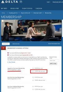 the workaround for your full membership sky club renespoints